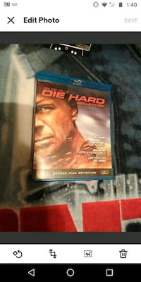 Die Hard collection Blu Ray/DVD