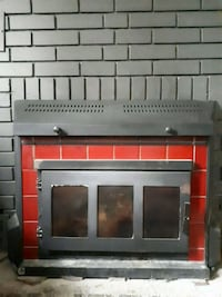 black and red electric fireplace Aylmer, N5H