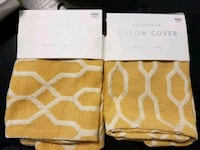 Decorative Pillow cover yellow/gold Jacksonville, 32256