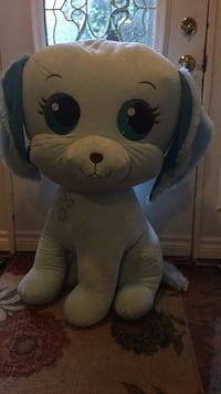 white and blue bear plush toy Mississauga, L5H 1Y5