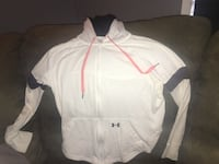 White under armour zip up hoodie (small) Abbotsford, V2T 1S6