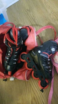Roller blades with bag and knee protector size 2-5 Washington, 20008