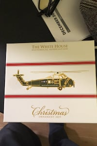 Helicopter.  Christmas Decoration