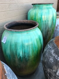 Green ceramic vases Scottsdale, 85257