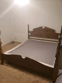 California King Bed with box spring