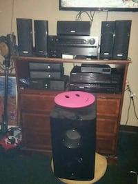 black and gray home theater system Topeka, 66609