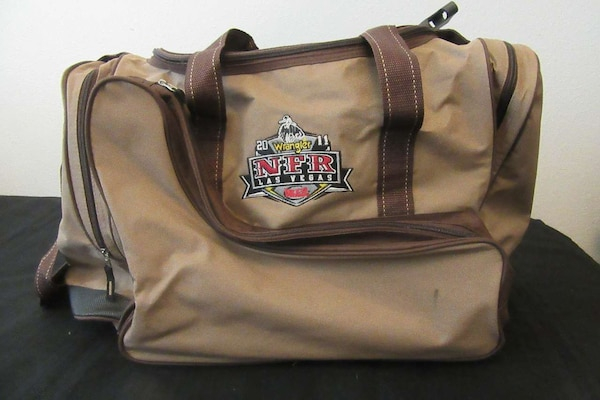 b2a8e97c4567 Used Justin Boots NFR Las Vegas 2011 duffle bag for sale in Buda - letgo