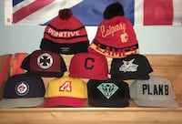assorted snapback caps and bobble hats London, N6J 3Z8