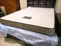 New queen  mattress set. Box included. Delivery 50 Edmonton, T6E 3X8