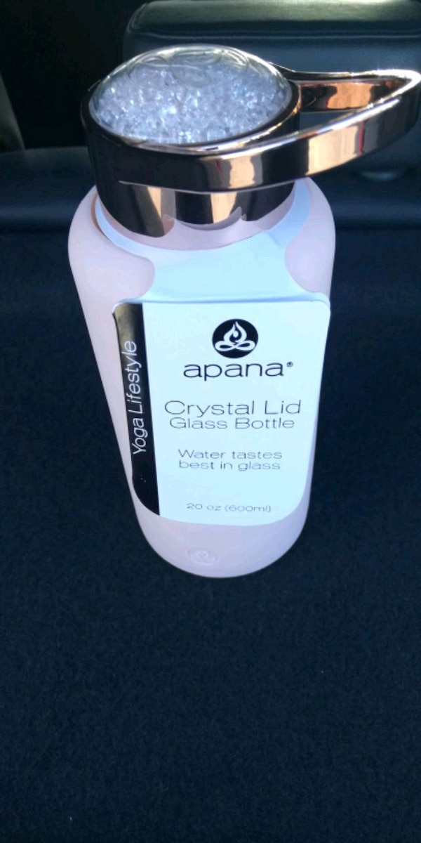 Apana Yoga Lifestyle Water Bottle Wajiyoga Co