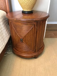 Tommy Bahama side table with storage  Newport Beach, 92661