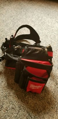 black and red Milwaukee bag Coquitlam, V3K 3W3