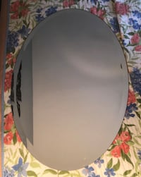 "21"" x 31"" Oval Wall Mirror (with mounting bracket) Washington, 20019"