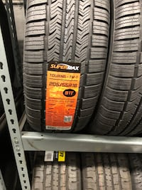 205/55R16 set of 4 tires