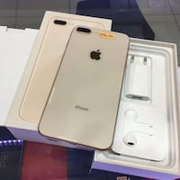 silver iPhone 8 Plus with box United States