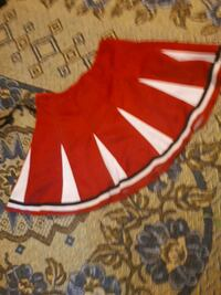 red and white Adidas track pants Hamilton
