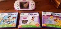 Leapster explorer system with games  Cambridge