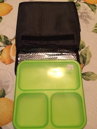New Insulated Lunch Bag with Compartmented Container and Fork San Leandro, 94577