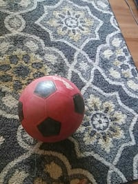 black and red soccer ball Chillum, 20782