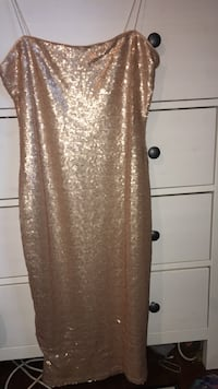 Sequence nude mini dress | can negotiate!