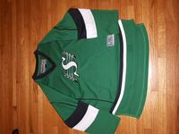 green and white S printed jersey Regina, S4T 0V3