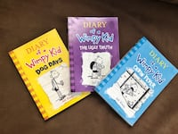 Diary of a Wimpy Kid Books #4, #5, #6 Parma, 44134