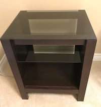 Glass Top Coffee Table/ Media unit or as night side table. Mississauga, L5B