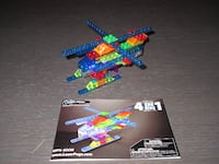 Used LEGO Banana Balance game & Laser Pegs 4-in-1 Helicopter Building Set Langley City