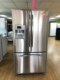 GE stainless steel French door refrigerator  Woodbridge, 22191