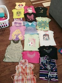 Huge lot of girls' clothes size 5 and 6 Surrey, V3S