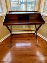 Solid wood writer's desk TUCKER