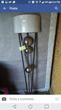 white and silver wall mount lamp set Maryville, 37801