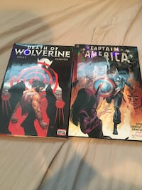 Captain America and death of wolverine graphic novels null, T8R 1P2