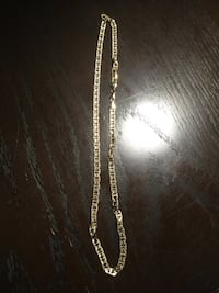 Gold plated necklace  Toronto, M6M 5H4