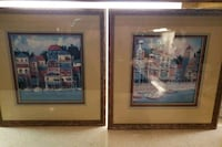 (2) Paired Framed Art Prints in perfect condition Shepherdstown, 25443