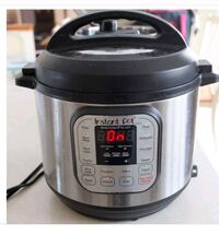 gray and black Instant Pot slow cooker 547 km