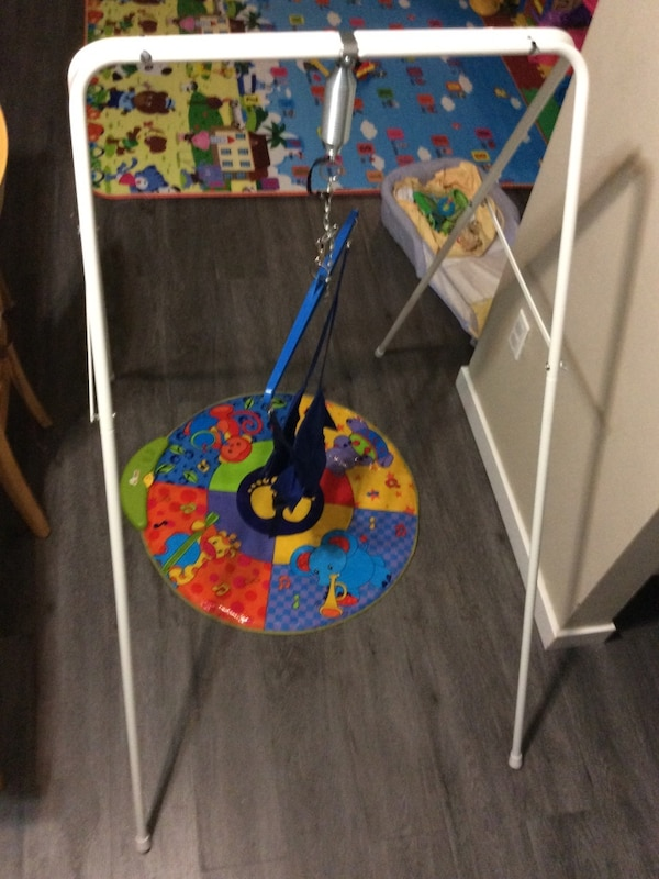 Jolly jumper with musical mat ( negotiable )