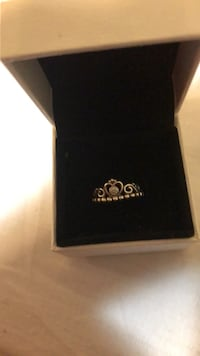 silver Pandora ring with box Newmarket, L3Y 2X8