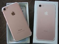rose gold iPhone 7 with box Cambridge, N1R 3R1