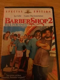 Barber Shop 2 DVD case Eastover, 29044