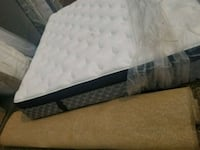 white and gray floral mattress St. Albert, T8N 0K9