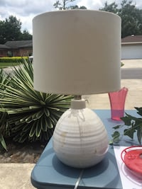 Two bedroom lamps. 10.00 each both for 15.00