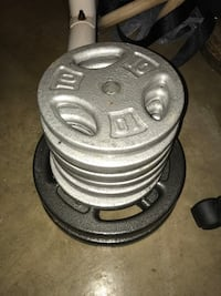 110 Pounds of weights