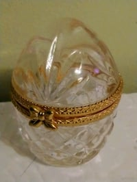 Chrystal Egg Trinket Box  Burlington, L7R 3P8