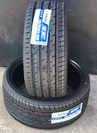 245/30/20 new tires Haida set of 4 or sale by piece Dallas, 75228