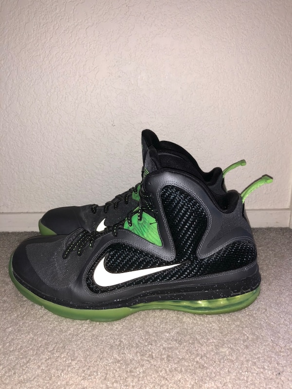 8b40e64061a9 Used Nike Lebron 9 Dunkman Size 13 Basketball Shoes for sale in Livermore