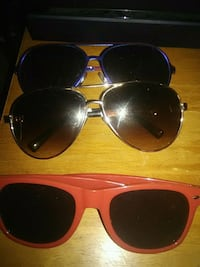two black and red framed sunglasses Nashville, 37076
