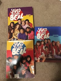 5 seasons of Saved by the Bell DVDs Plainville, 02762