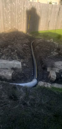 install drains system  Round Lake