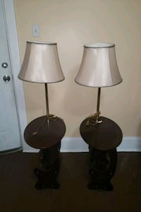 Vintage Pair Of Table Lamps  Tamaqua